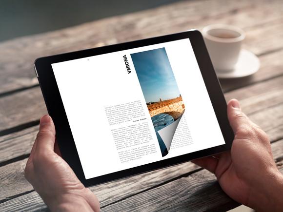 Come creare un Flipbook sul tablet con un effetto di capovolgimento di pagina