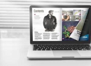 Flip a PDF sul laptop
