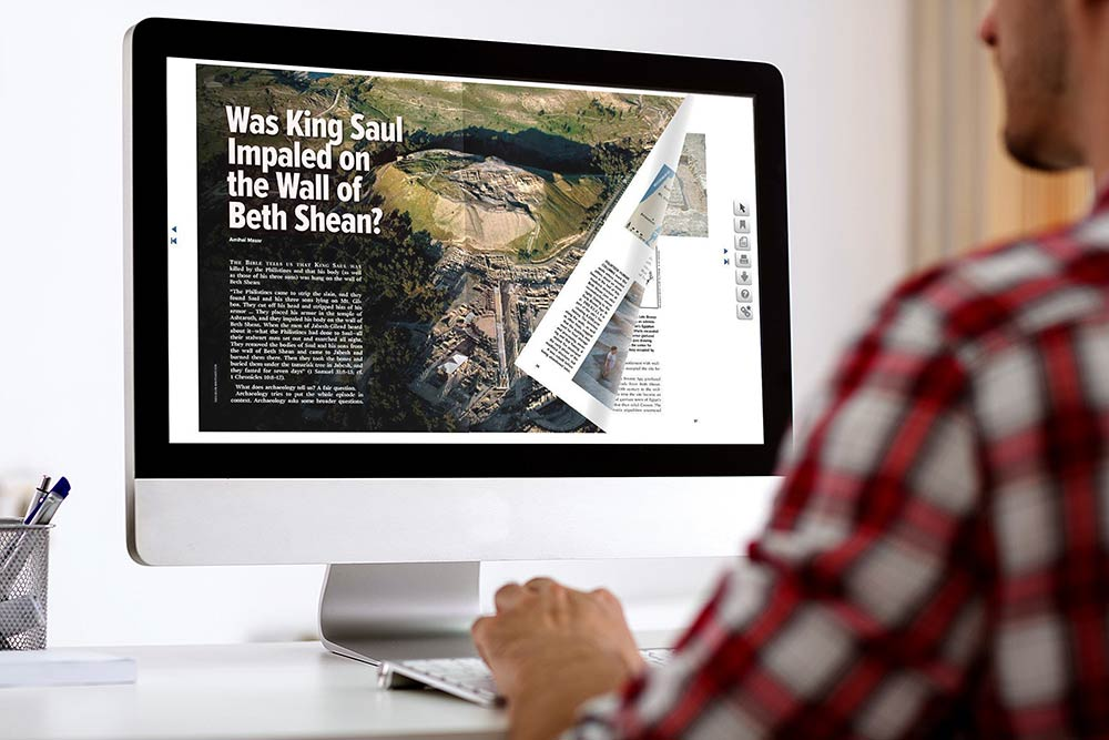 Flipbook PDF sullo schermo del computer